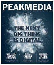 PEAKMEDIA - Das Digital Signage Magazin