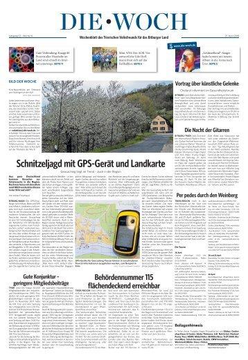 Bitburger Woch 21.04.2018