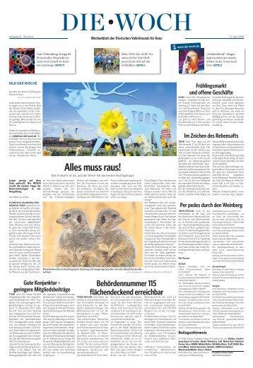 Konzer Woch 21.04.2018
