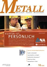 Kupfer - Metall-web.de