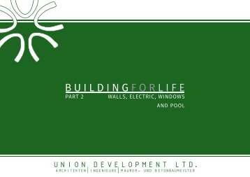 Building for life - Part 2