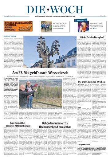 Wittlicher Woch 21.04.2018