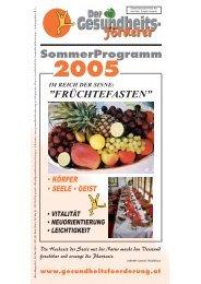 SommerProgramm 2005 - GGF