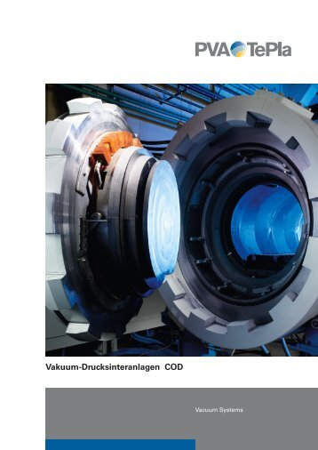 Vakuum-Drucksinteranlagen COD - PVA TePla AG