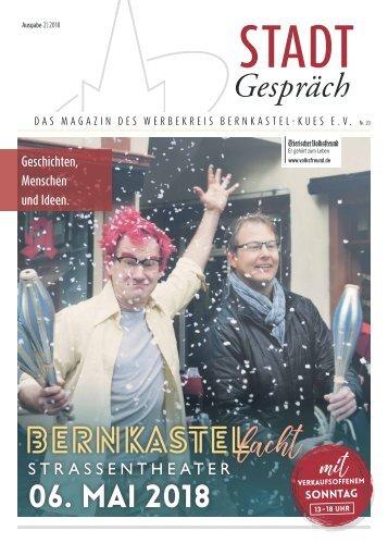 Stadtgespräch Bernkastel-Kues - Augabe 2 / 2018