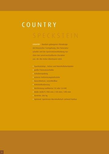 COUNTRY SPECKSTEIN