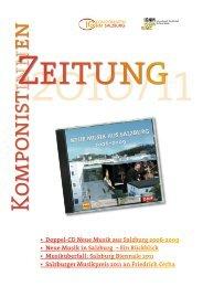 Neue Musik in Salzburg 1922-2009 - IG Komponisten