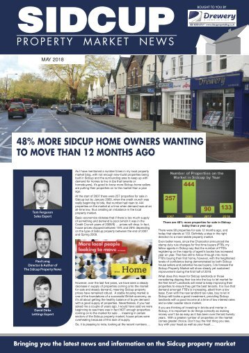 SIDCUP PROPERTY NEWS - MAY 2018