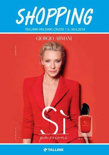 Tallinn-Helsinki Cruise May-June 2018 Tallink Summer Shopping catalogue – full version
