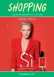 Tallinn-Helsinki Shuttle May-June 2018 Tallink Summer Shopping catalogue – full version