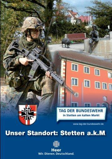 Unser Standort Stetten a.k.M 2016