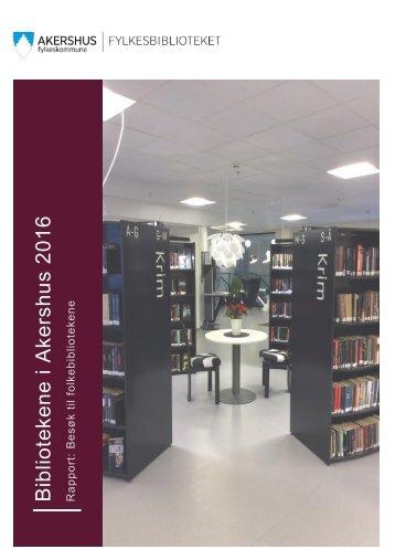 Bibliotekene i Akershus 2016
