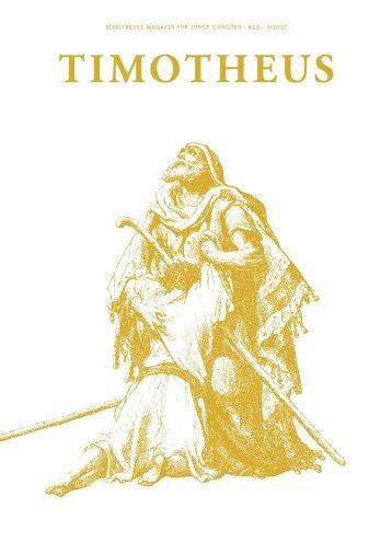 020-Timotheus-Die-Liebe-Gottes