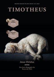 Timotheus Magazin #19 - Jesus Christus