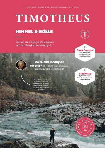 Timotheus Magazin #23 - Himmel & Hoelle
