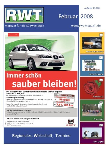 Februar - RWT - Magazin für die Südwestpfalz