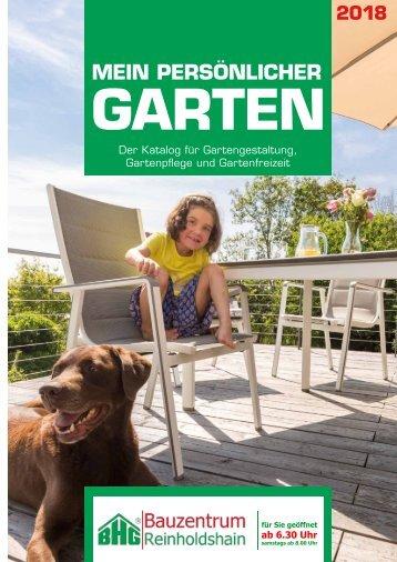 Gartenkatalog 2018 - BHG Reinholdshain