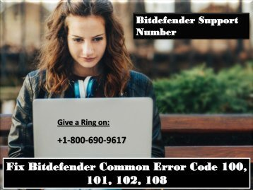 Fix Bitdefender Common Error Code 100, 101, 102