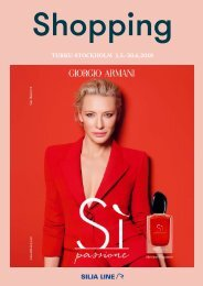 Turku-Stockholm May-June 2018 Silja Line Summer Shopping catalogue – light version