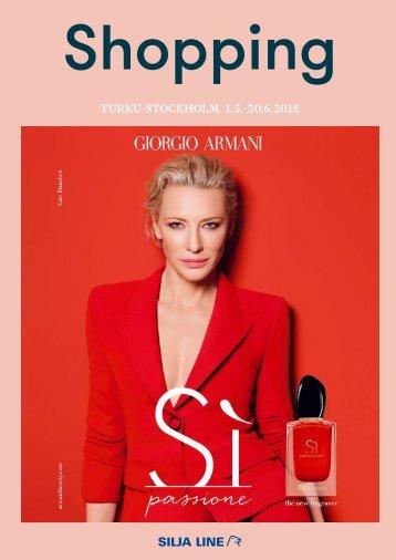 Turku-Stockholm May-June 2018 Silja Line Summer Shopping catalogue – light version