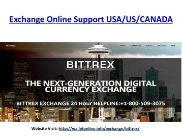 Bittrex Exchange Phone Number