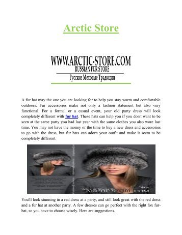 Winter Fur Hat | Russian fur hats | Arctic-Store