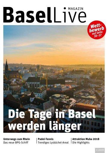 Basel Live Magazin 1/2018