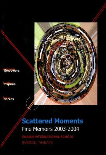 2003-2004 Pine Memoirs