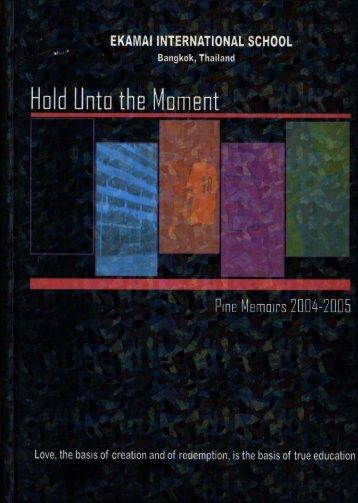 2004-2005 Pine Memoirs