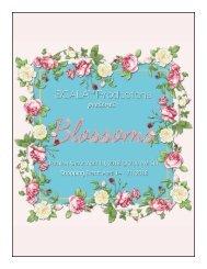 SCALA Blossoms Catalogue 2018