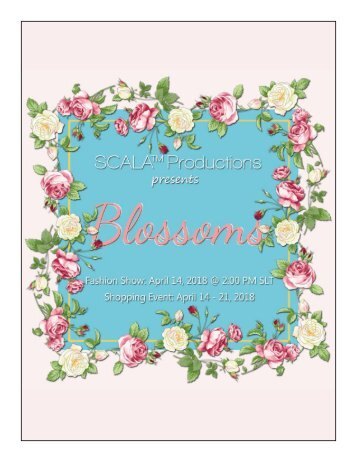 SCALA Blossoms Catalogue 2018