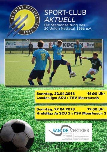 SPORT-CLUB AKTUELL - SAISON 17/18 - AUSGABE 14