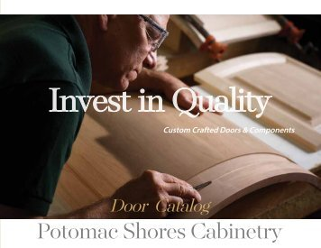 Door catalog 2018 potomac shores full line
