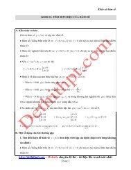 193 Bài tập trắc nghiệm - Chuyên đề khảo sát hàm số - Trần Sĩ Tùng - Có lời giải chi tiết