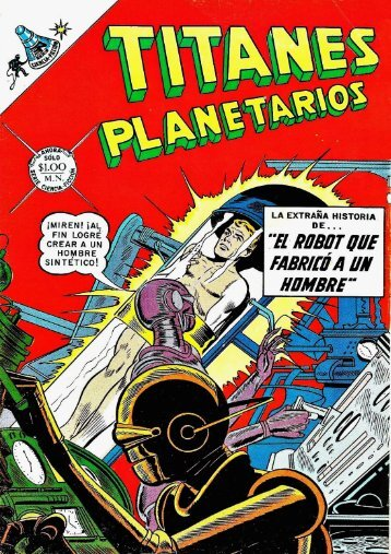 TITANES PLANETARIOS - N°283 - julio 1968