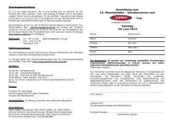 MTB Neuhaus 2012 - Deutsche Mountainbike-Union