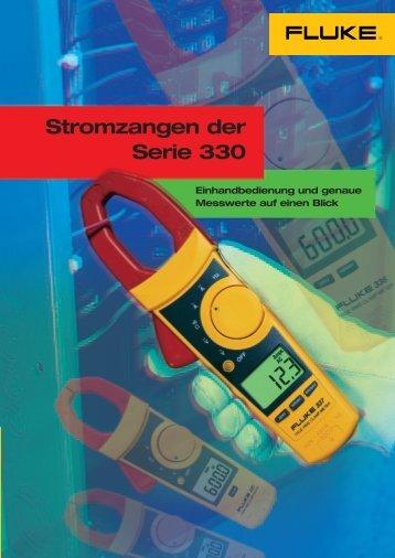 Stromzangen der Serie 330 - CalPlus GmbH