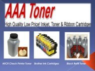 High Quality Toner at Low Price