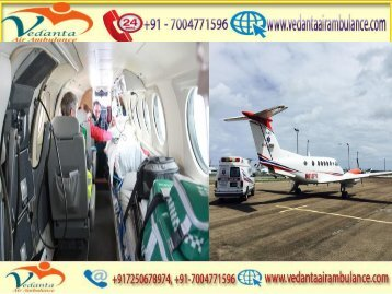 Get Air Ambulance Service with MD Doctor from Chennai to Delhi by Vedanta Air Ambulance
