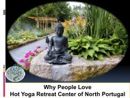 Why People Love Hot Yoga Retreat Center of North Portugal
