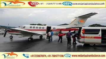 Get Air Ambulance Service with all Modern Medical facility from Raipur to Delhi by Vedanta Air Ambulance