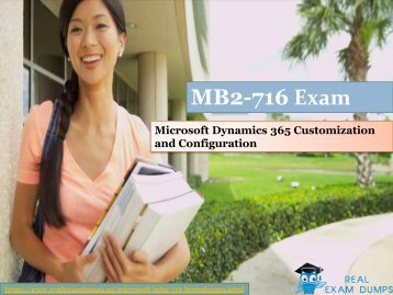 MB2-716 dumps | Download MICROSOFT MB2-716 Real Exam Questions | RealExamDumps