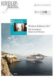WINDROSE KreuzfahrtenSilversea 2012