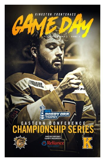 Kingston Frontenacs GameDay April 22, 2018
