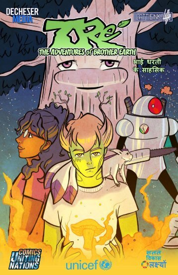 Tre`: The Adventures of Brother Earth (Hindi)