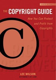 Free eBooks The Copyright Guide: How You Can Protect and Profit from Copyright Full page