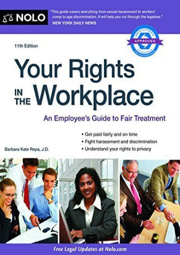 Download PDF Your Rights in the Workplace on any device