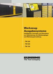 Werkzeug- Ausgabesysteme - Gühring