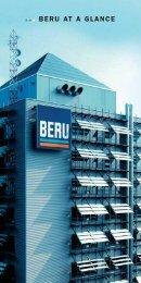 BERU AT A GLANCE - Eng Soon Auto Pte Ltd