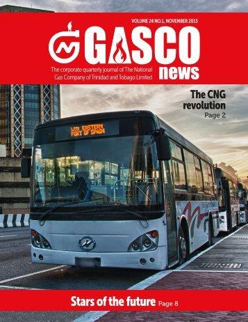 GASCO News (Volume 24, November 2013)